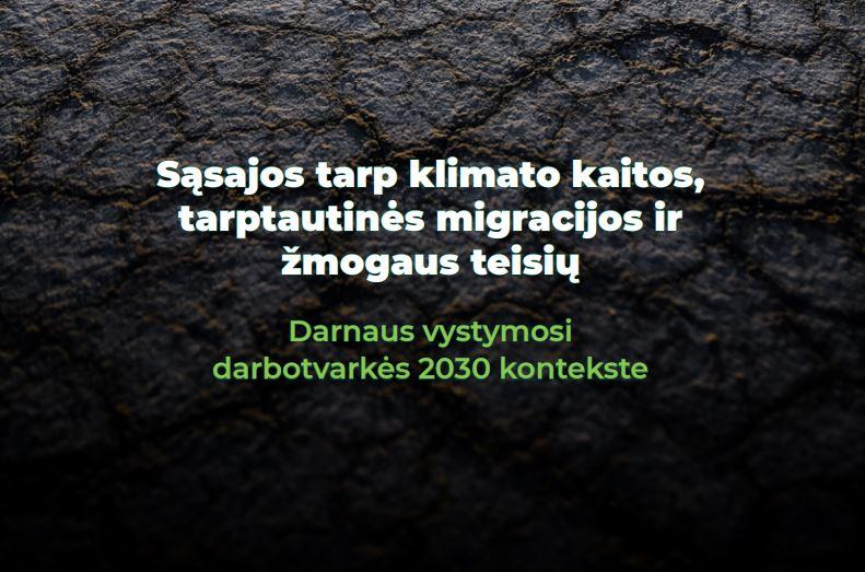 klimato migracija